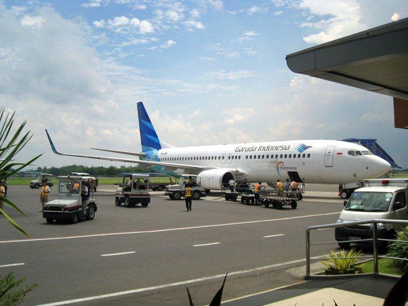 La programación de la aerolínea Garuda Indonesia se ha visto afectada.