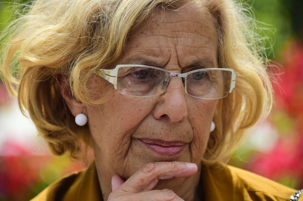 Manuela Carmen, alcaldesa de Madrid.