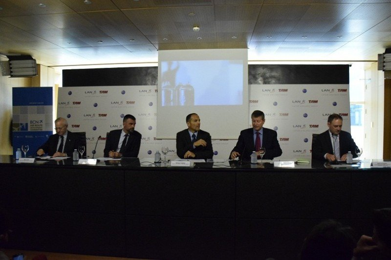 LATAM lanza su ruta Barcelona-Sao Paulo que potencia El Prat como hub intercontinental