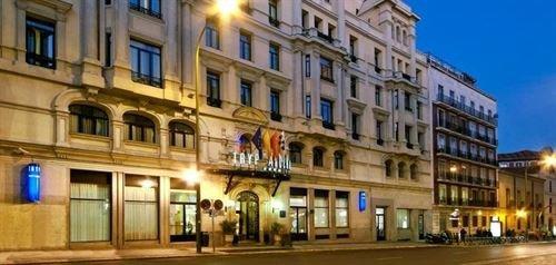 Hotel Tryp Atocha.