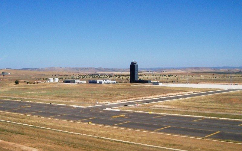 El Aeropuerto de Ciudad Real, vendido por 10.000 € después que costó 1.100 M €