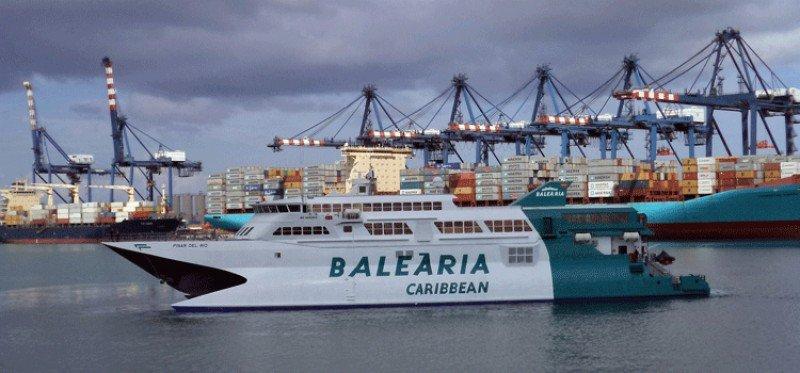 Baleària ya puede transportear pasajeros entre EEUU y Cuba