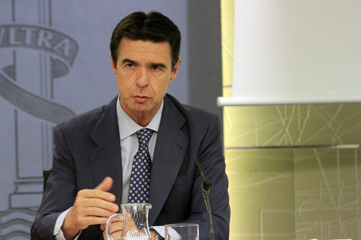 José Manuel Soria, ayer en el Consejo de Ministros.