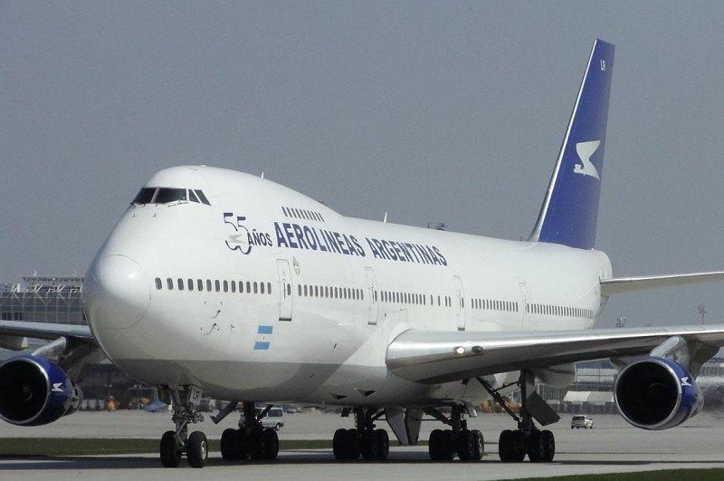 Aerolíneas Argentinas cancela más de 100 vuelos. Foto de Aviacionaldia.