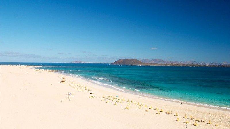Playa de Corralejo, Fuerteventura. Foto Fernando García Calderón.