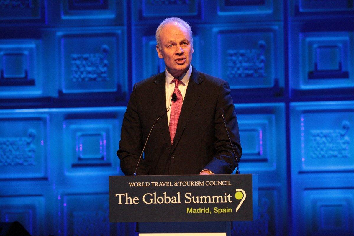 El presidente del WTTC, David Scowsill.
