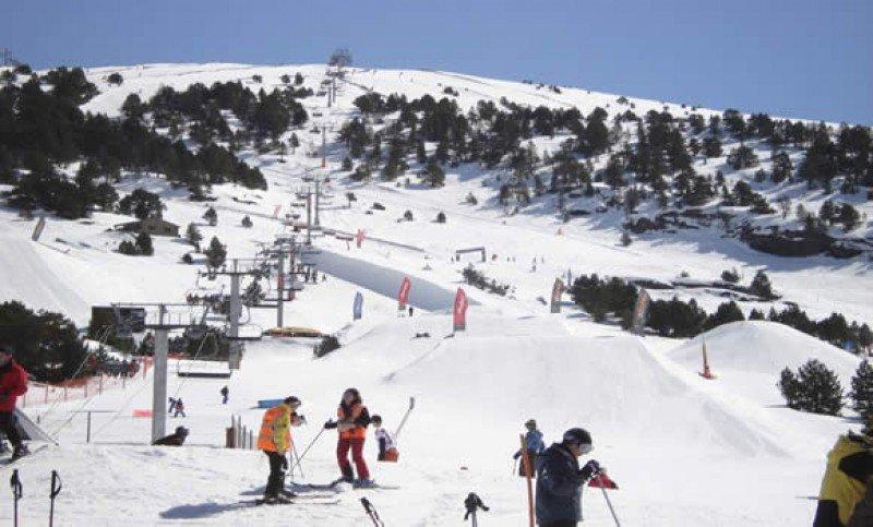 estación de esquí de Grandvalira, en Andorra.