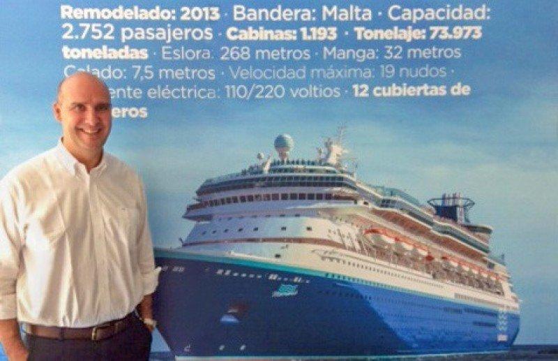 Alejandro Páez, nuevo director de Pullmantur Cruceros para Latinoamérica.