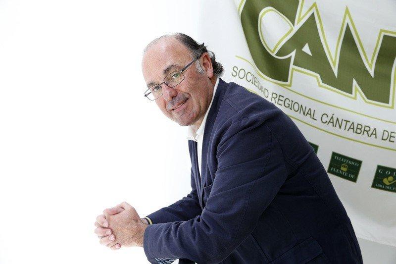 Javier Carrión. Foto: Gobierno de Cantabria.