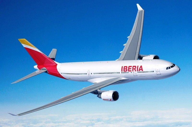Iberia aumenta su oferta a Montevideo un 23% y programna el A330 en la ruta.