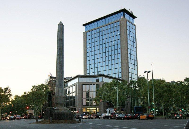 La torre del Deutsche Bank en Barcelona.