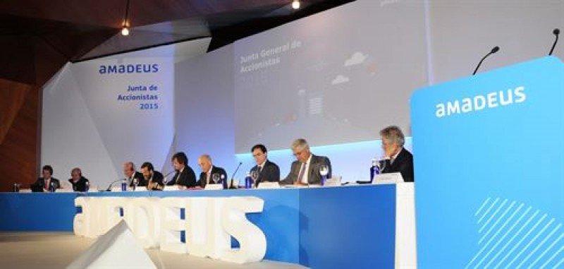 Amadeus abona un dividendo complementario de 0,38 euros por acción