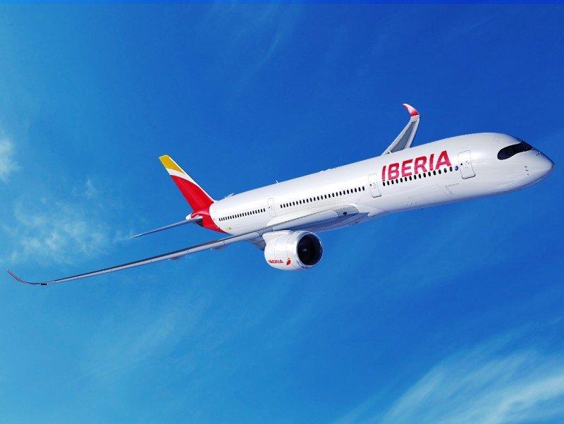El modelo A350-900 será incorporado a la flota d elargo radio de Iberia.