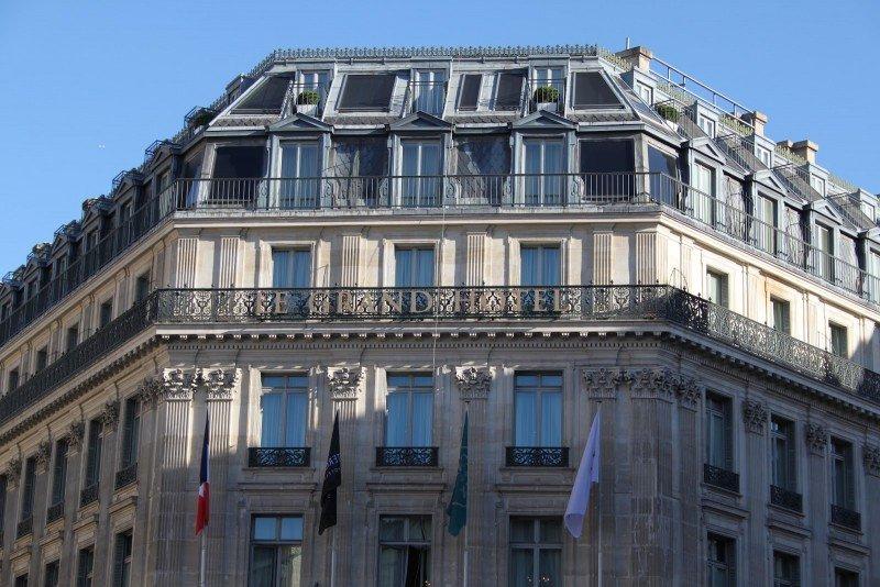 La cadena ha completado la venta del Intercontinental París Le Grand.