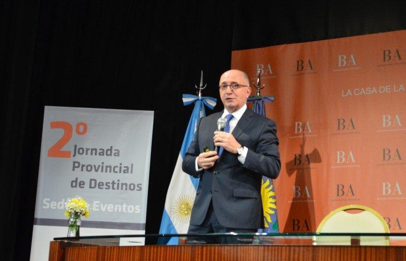 Arnaldo Nardone participó de la 2° Jornada de Destinos Sede de Eventos.