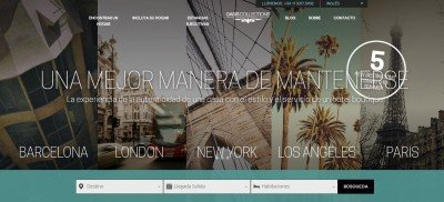 La plataforma online ofrece más de 1.000 propiedades en 10 ciudades del mundo.