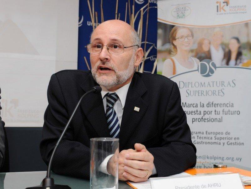 Juan Martínez continúa en la presidencia de AHRU y asume la titularidad de la Cámara Uruguaya de Turismo. Foto: archivo
