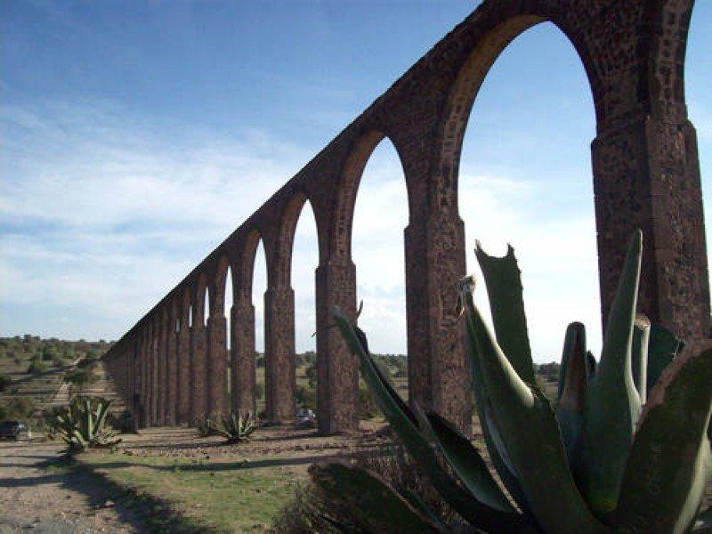 Acueducto Tembleque, en México. Foto: Unesco