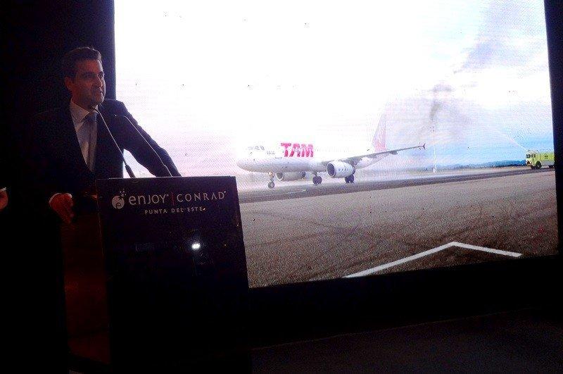 Francisco Chiari, gerente general de LATAM Airlines en Uruguay.