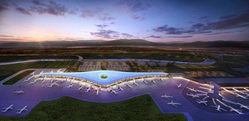 Proyecto de la terminal sur del aeropuerto Tocumen de Panamá.