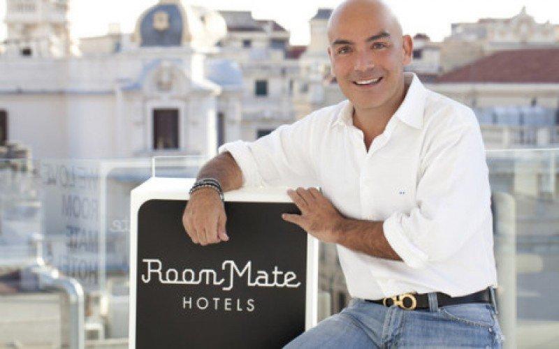 Kike Sarasola, propietario de Room Mate Hotels.