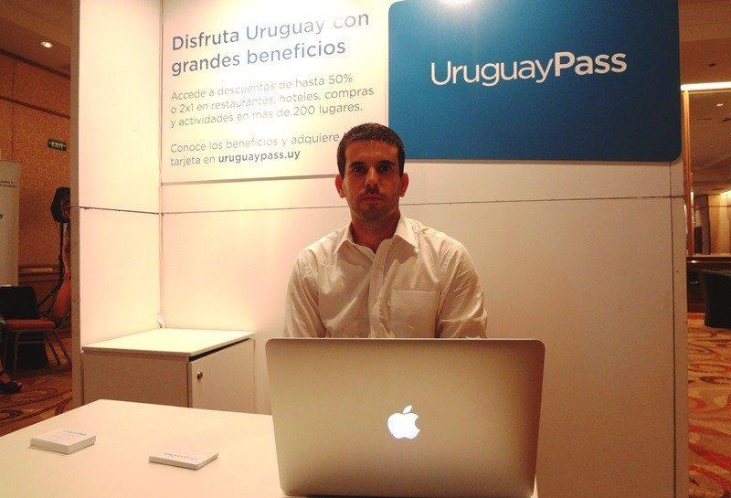 Agustín Sartorio, emprendedor responsable de UruguayPass y Uruguay 360, ha estado presente en las últimas ferias de turismo a nivel local: VTN y Fituy.