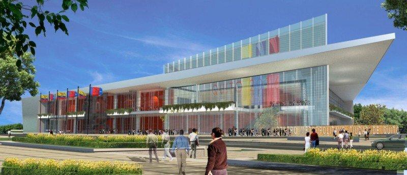 Proyecto del Centro de Convenciones de Quito.