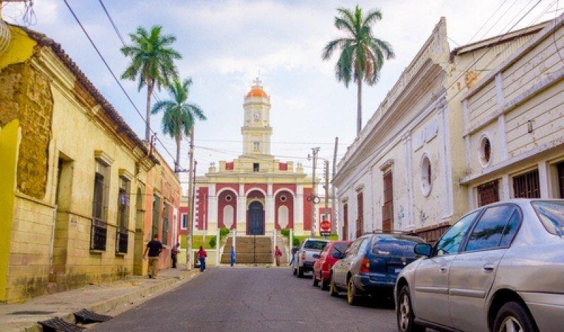Ciudad de Santa Ana, en El Salvador. #shu#