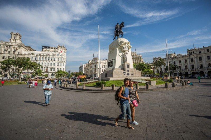 Perú recibió 1,4 millones de turistas extranjeros en cinco meses. #shu# / Christian Vinces