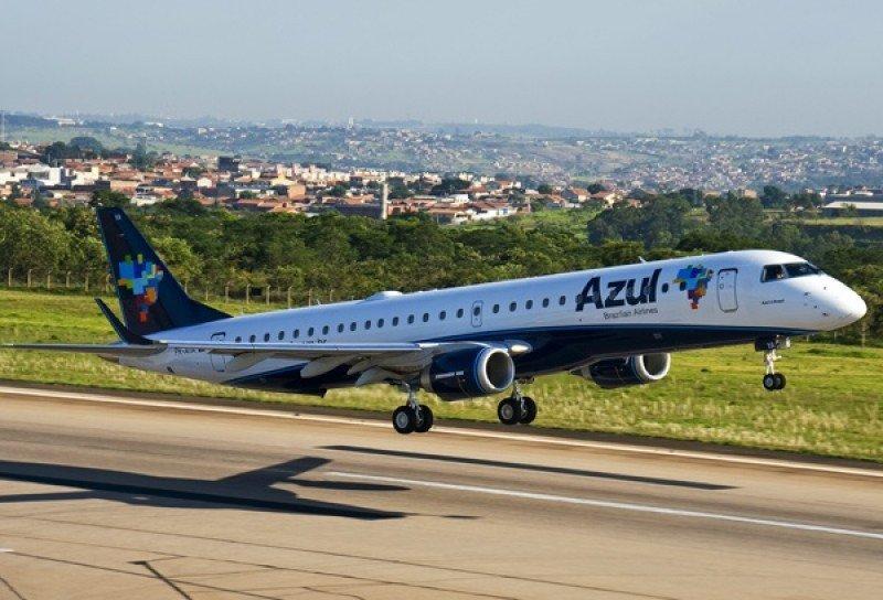 Azul volará desde Campinas en aviones Embraer 195.