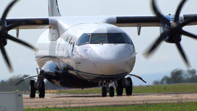 Los aviones ATR 72 serán usados para las frecuencias entre Porto Alegre y Punta del Este.