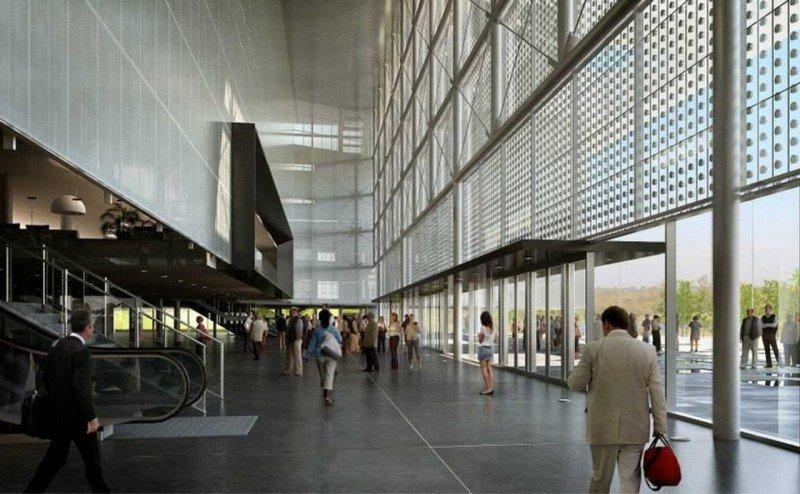 Proyecto del complejo Antel Arena.