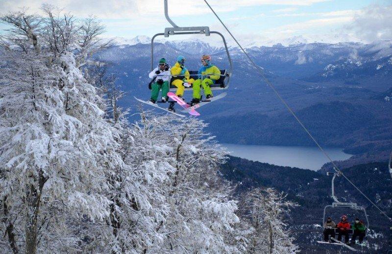 Más de 4.000 personas por día visitaron Cerro Chapelco.