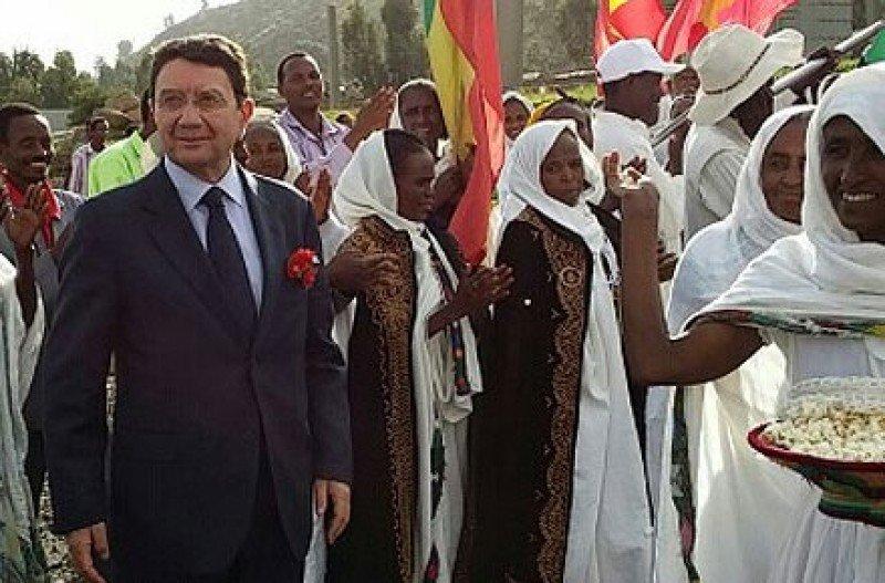 Taleb Rifai en visita a Etiopía.