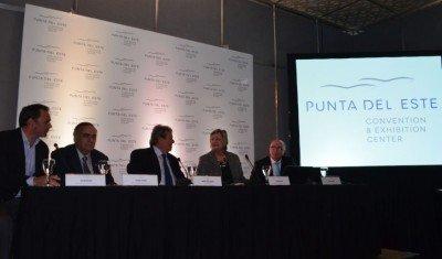 Punta del Este presentó su Centro de Convenciones a Buenos Aires.
