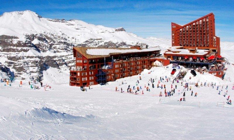Valle Nevado es el centro de esquí más alto de Chile.