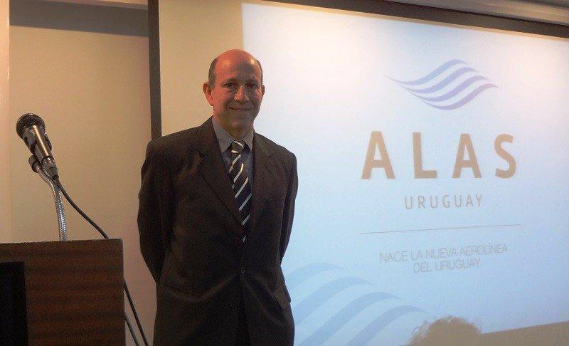 Sergio Riolfo expuso sobre el proyecto de Alas Uruguay en Desayuno de Turismo de Cipetur.