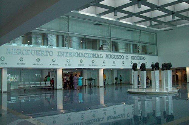Aeropuerto Internacional Augusto C. Sandino de Managua.