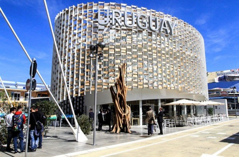 Pabellón de Uruguay en la Expo Milán 2015.