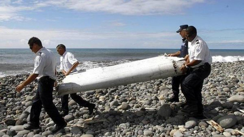 El trozo de ala hallado en la isla Reunión fue enviado a Francia para ser investigado.