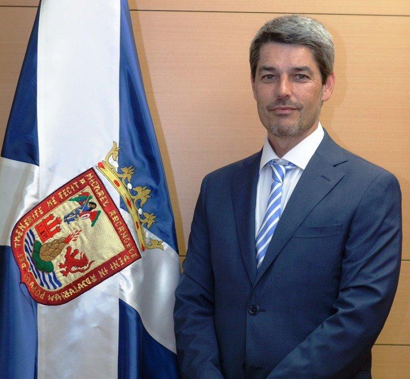 Alberto Bernabé, nuevo consejero de Turismo del Cabildo de Tenerife.