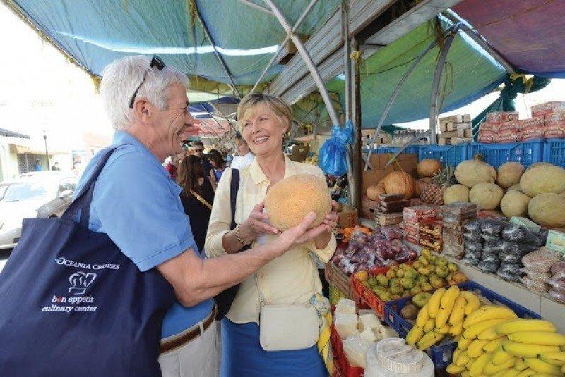 Nuevos tours culinarios de Oceania Cruises en 2016