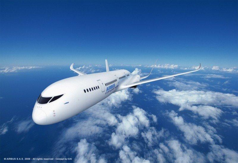 Airbus patenta un avión supersónico que podrá unir Madrid y México en tres horas