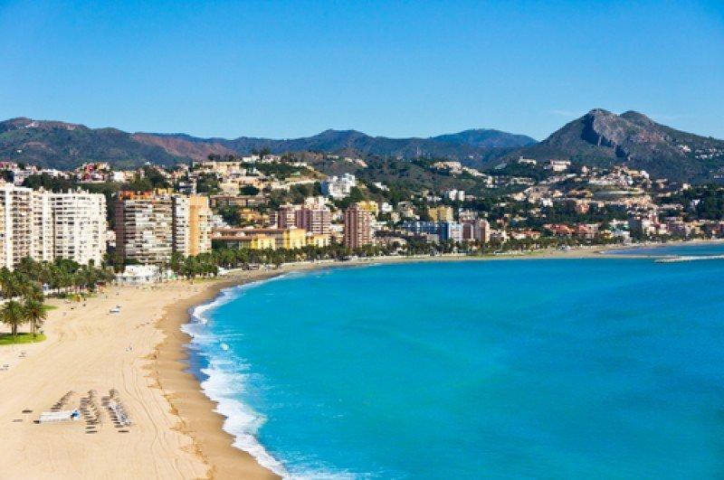 Playa de Málaga. #shu#