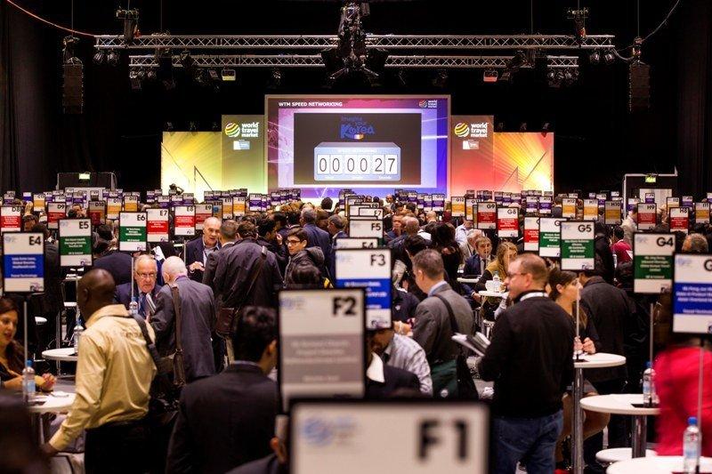 Una imagen de la sesión Speed Networking celebrada el año pasado en World Travel Market.