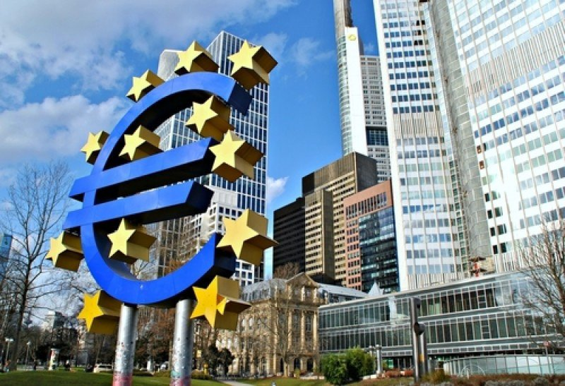 Frankfurt, sede del Banco Central Europeo. #shu#