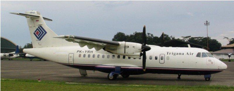 El modelo de avión que ha sufrido el accidente.