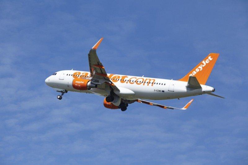 Un avión de easyJet. #shu#