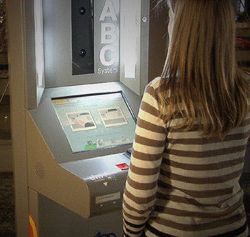 Uno de los sistemas ABC (Automatic Border Control) de control automatizado fronterizo.