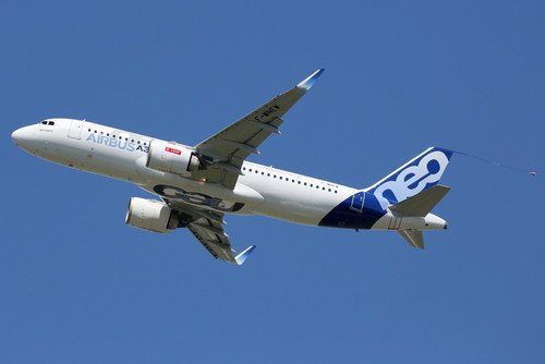 Los nuevos Airbus A320neo proporcionan un 15% de ahorro en combustible. #shu#